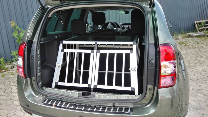 Safecrate Double Small Premium i Dacia Duster årgang 2016