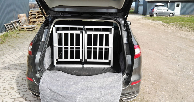 SafeCrate Double Medium Premium i Ford Mondeo Stationcar 2017