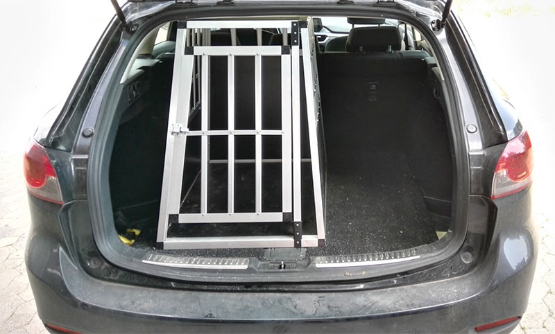 SafeCrate Large Premium i Mazda 6 Stationcar 2015