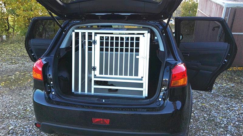 b-Safe Large Wide hundebur til SUV - Mitsubishi ASX 2016