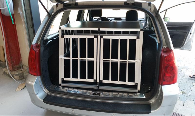 Safecrate Double XL Premium i Peugeot 307 SW