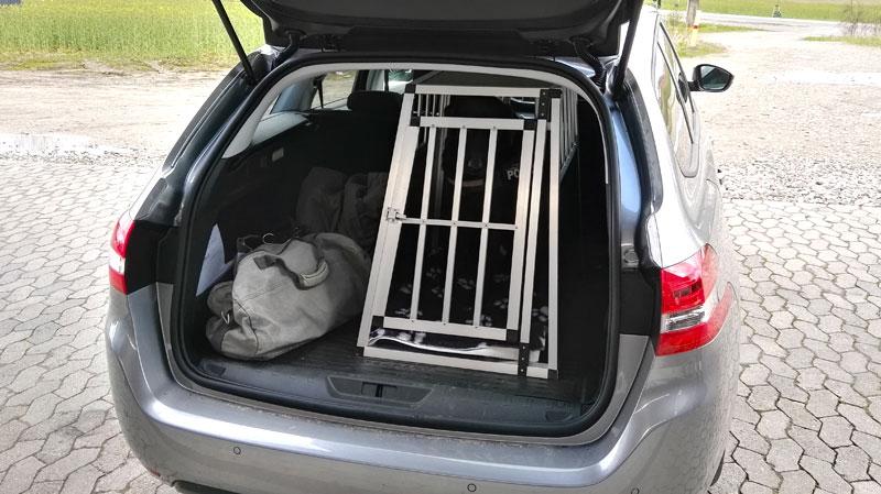 SafeCrate Large Premium i Peugeot 308 SW fra 2015