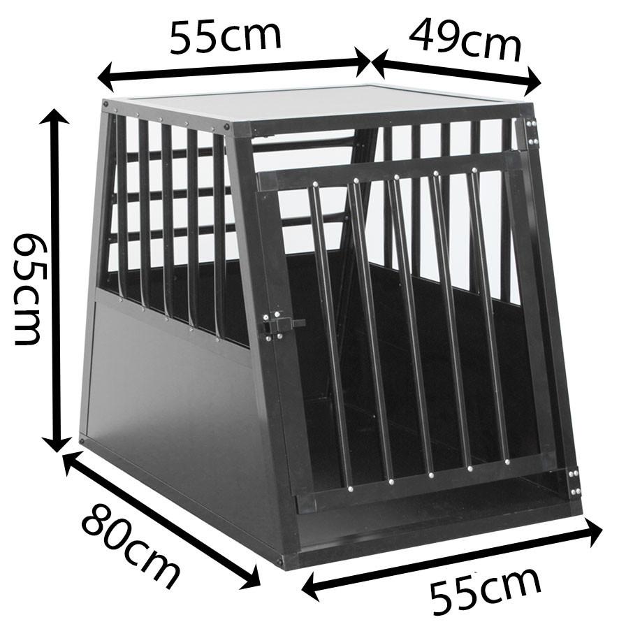 SafeCrate Large Long - 3. Generation - Hundebur