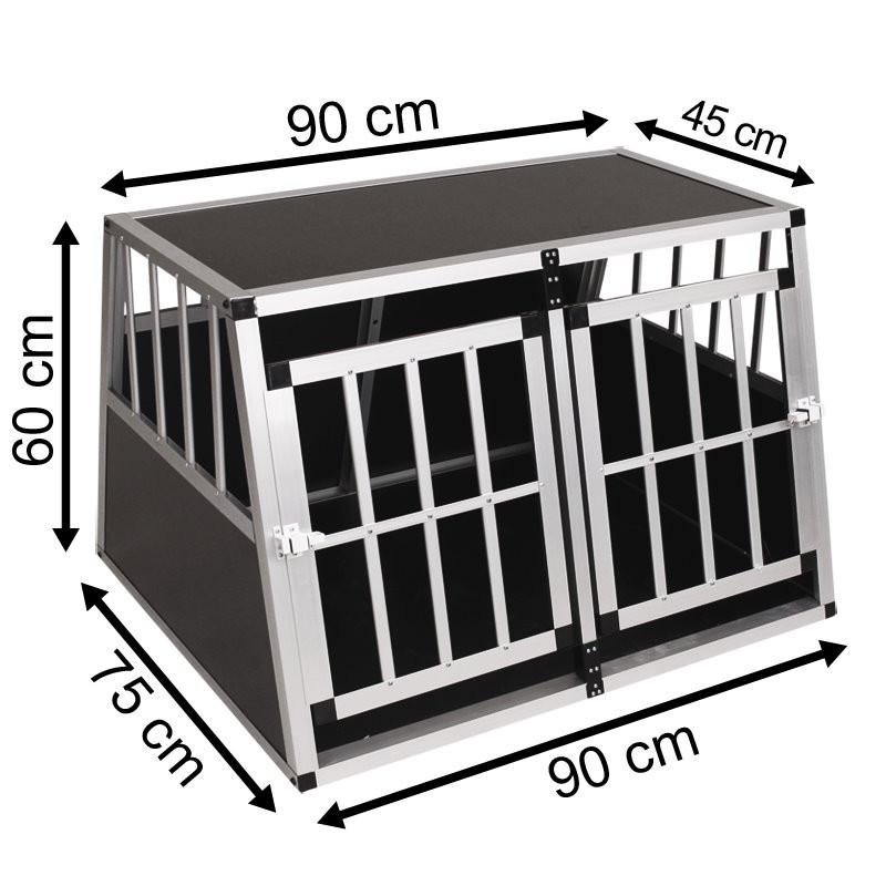 SafeCrate Double Medium Premium - 2. Generasjon Hundebur
