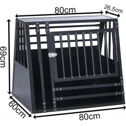 SafeCrate XL Wide Med Trinn - 3. Generasjon Hundebur
