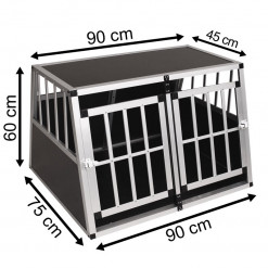 SafeCrate Double Medium Premium