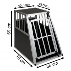 SafeCrate Large Premium - Hundebur til små og mellomstore hunder
