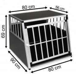 SafeCrate XXL Premium - Ekstra stort hundebur til stor hund (2. Generasjon)