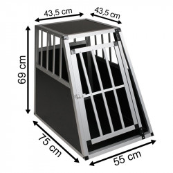 SafeCrate Large Premium - 2. Generasjon Hundebur