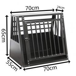 SafeCrate Medium Wide - 3. generasjon - Hundbur