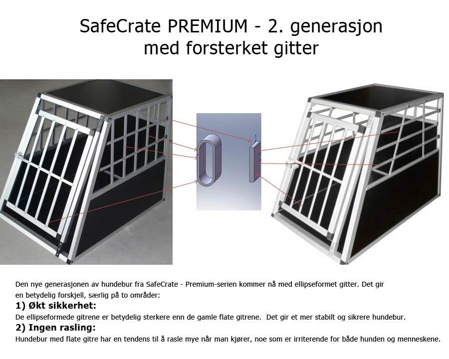 SafeCrate nå med ellipseformet gitter